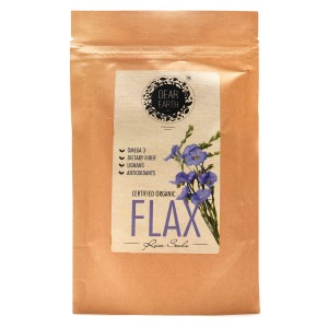 Dear Earth Organic Flaxseeds - 300 GMS