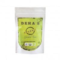 Deha's Organic Green Tea - 100 GMS