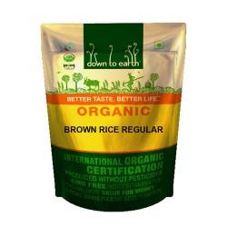 Down to Earth Organic Brown Rice Regular - 1 KG