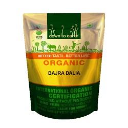 Down to Earth Organic Bajra Dalia - 500 GMS