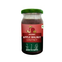 Down to Earth Organic Apple Walnut Chutney