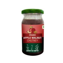 Down to Earth Organic Apple Walnut Chutney