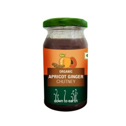 Down to Earth Organic Apricot Ginger Chutney