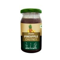 Down to Earth Organic Pineapple Chutney