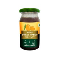 Down to Earth Organic Sweet Mango Chutney