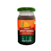 Down to Earth Organic Spicy Mango Chutney