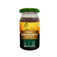 Down to Earth Organic Dakh Dana Methi Chutney
