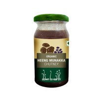Down to Earth Organic Heeng Munnaka Chutney