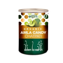 Down to Earth Organic Anwala Candy Spicy - 150 GMS