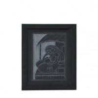 Designer Slate Wall Frame - Maa O Sishu