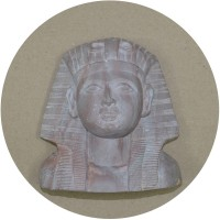 Natural Stone Carved Egyptian Statue of Sphinx