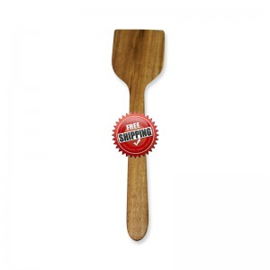 Premium & Natural Wood-Made Flat Cooking Spatula (for regular use) - 1 PC