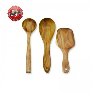 Premium & Natural Wood-made Dining Servers (for regular use) - 3 PCs