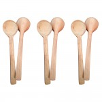 Wooden Baby Feeding Spoons - Set of 6
