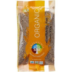 Green Sense Organic Bishop's Weeds Whole/Ajwain - 100 GMS