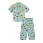 Boy's Nightsuits with Candies and Icecream Cone