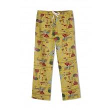 GreenApple Organic Cotton Mom Pyjama Yellow Color with a Travel Story