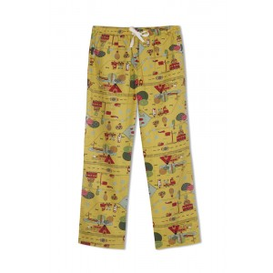 GreenApple Organic Cotton Mom Pyjama Yellow Color with a Travel Story