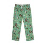 Mom Pyjama Green Color with Bats,Soccer Ball,Basket Ball