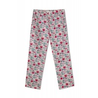 GreenApple Organic Cotton Mom Pyjama Light Pink Color with Tulip Flowers