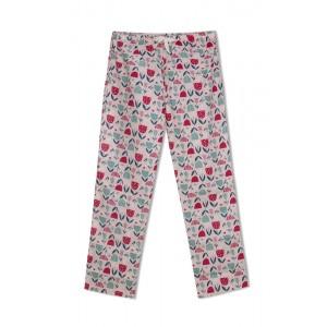 GreenApple Organic Cotton Mom Pyjama Light Pink Color with Tulip Flowers