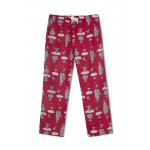 Mom Pyjama Red Color  with Swinging Monkeys