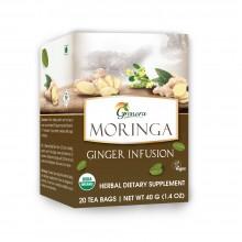 Grenera Organic Moringa Ginger Tea - 20 Bags