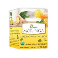 Grenera Organic Moringa Lemon Ginger Infusion Tea - 18 Tea Bags