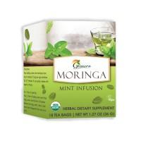 Grenera Organic Moringa Mint Infusion Tea - 18 Tea Bags