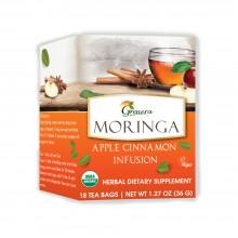 Grenera Organic Moringa Apple Cinnamon Infusion Tea - 18 Tea Bags