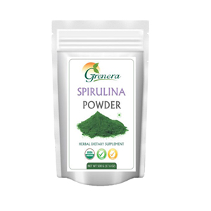 Grenera Organic Spirulina Powder - 500  GMS