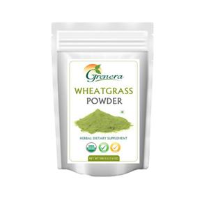 Grenera Organic Wheatgrass Powder -500  GMS