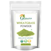 Grenera Organic Wheatgrass Powder - 500 GMS
