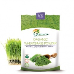 Grenera Organic Wheatgrass Powder - 100 GMS