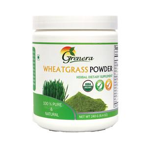 Grenera Organic Wheatgrass Powder - 240  GMS