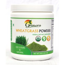 Grenera Organic Wheatgrass Powder - 240 GMS