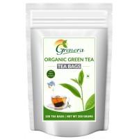 Grenera Organic Green Tea - 100 Tea Bags
