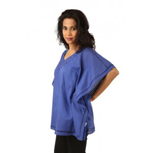 Indricka Tanya Top (Blue)