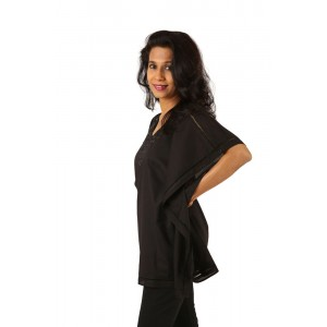 Indricka Tanya Top (Black)