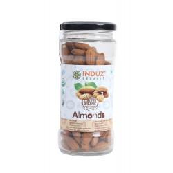 Induz Organic Almonds - 200 GMS