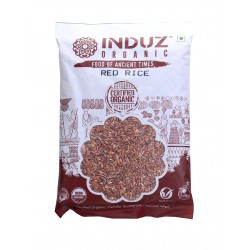 Induz Organic Red Rice - 500 GMS