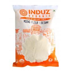 Induz Organic Moong Flour (Besan) - 500 GMS
