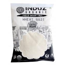 Induz Organic Wheat Suji - 500 GMS