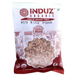 Induz Organic Red Rice Poha - 250 GMS