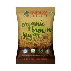Induz Organic Brown Sugar - 1 KG