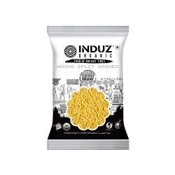 Induz Organic Moong Split Washed (Yellow) - 500 GMS