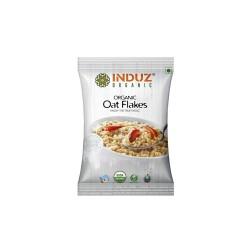 Induz Organic Oat Flakes - 200 GMS