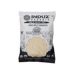 Induz Organic Urad Split Washed - 500 GMS