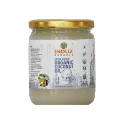 Induz Organic Virgin Coconut Oil - 500 ML