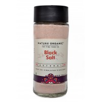 Nature Organic Natural Black Salt - 250 GMS